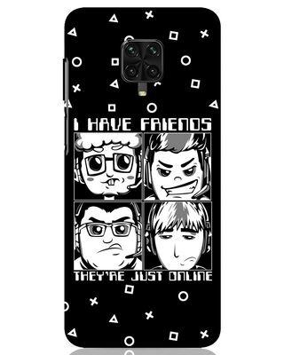 Shop Game Squad Xiaomi Poco M2 pro Mobile Cover-Front