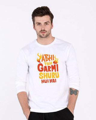 98226b12 White Men's Full Sleeve T-Shirts - Buy White Online - Bewakoof.com