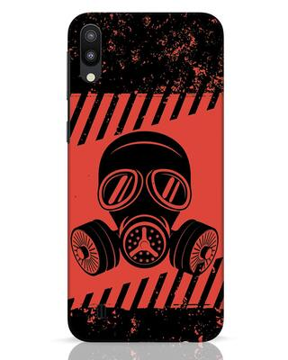Shop Gas Mask Samsung Galaxy M10 Mobile Cover-Front