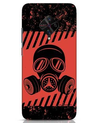Shop Gas Mask Vivo S1 Pro Mobile Cover-Front