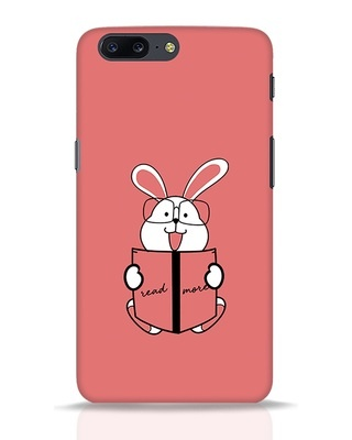 Shop Geek Bunny OnePlus 5 Mobile Cover-Front