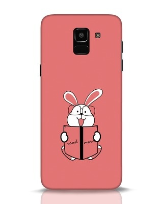 Shop Geek Bunny Samsung Galaxy J6 Mobile Cover-Front