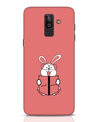 Shop Geek Bunny Samsung Galaxy J8 Mobile Cover-Front