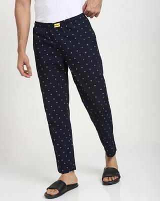 Shop Geometric All over Printed Pyjama-Front