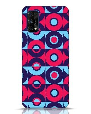 Shop Geometric Shapes Colorblock Realme 7 pro Mobile Cover-Front