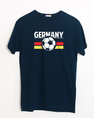Shop Germany Half Sleeve T-Shirt-Front
