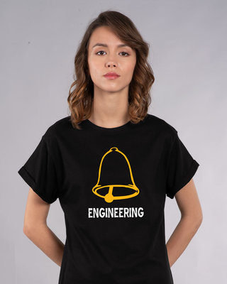 Shop Ghanta Engineer Vintage Boyfriend T-Shirt-Front