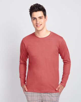 Shop Ginger Spice Full Sleeve T-Shirt-Front
