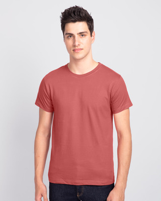 Shop Ginger Spice Half Sleeve T-Shirt-Front