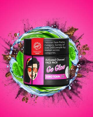 Shop Go Glow Natural Face Pack-Front