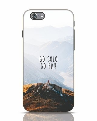 Shop Go Solo And Far iPhone 6s Mobile Cover-Front