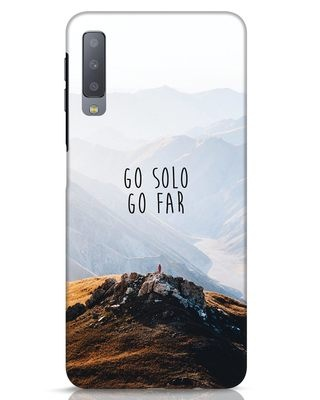 Shop Go Solo And Far Samsung Galaxy A7 Mobile Cover-Front