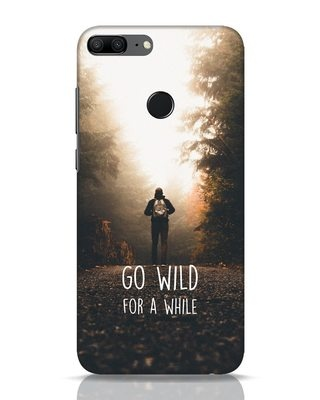 Shop Go Wild For A While Huawei Honor 9 Lite Mobile Cover-Front