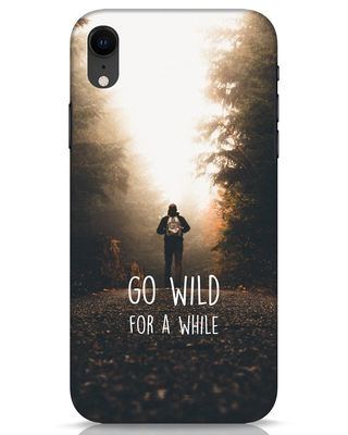 Shop Go Wild For A While iPhone XR Mobile Cover-Front