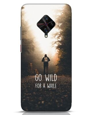 Shop Go Wild For A While Vivo S1 Pro Mobile Cover-Front