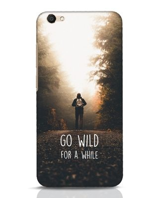 Shop Go Wild For A While Vivo V5 Mobile Cover-Front