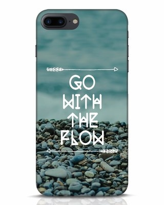 Shop Go With The Flow iPhone 7 Plus Mobile Cover-Front