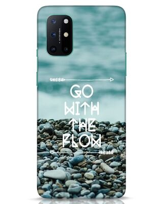 Shop Go With The Flow OnePlus 8T Mobile Cover-Front