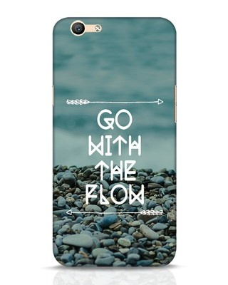 Shop Go With The Flow Oppo F1s Mobile Cover-Front