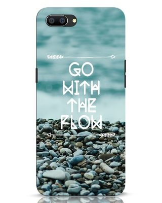 Shop Go With The Flow Realme C1 Mobile Cover-Front