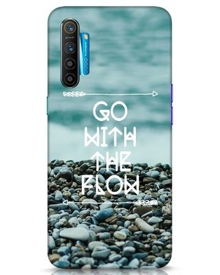 Shop Go With The Flow Realme XT Mobile Cover-Front