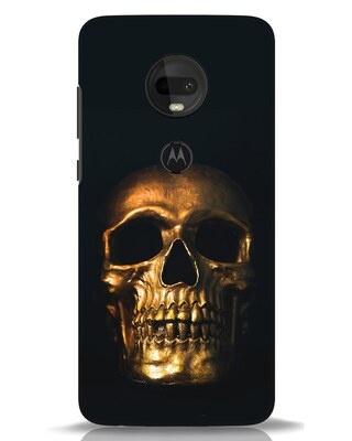 Shop Golden Skull Moto G7 Mobile Cover-Front
