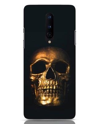 Shop Golden Skull OnePlus 8 Mobile Cover-Front