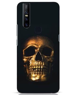 Shop Golden Skull Vivo V15 Mobile Cover-Front