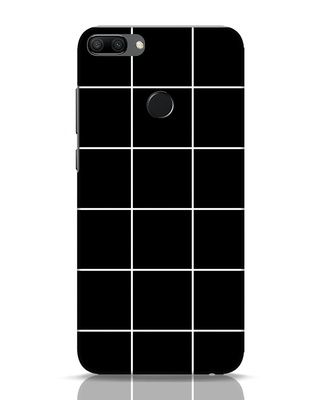 Shop Grid Huawei Honor 9N Mobile Cover-Front