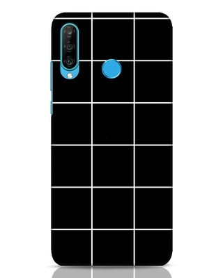 Shop Grid Huawei P30 Lite Mobile Cover-Front