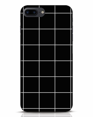 Shop Grid iPhone 7 Plus Mobile Cover-Front