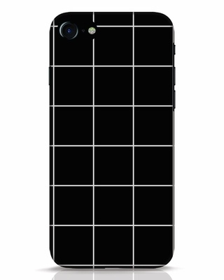 Shop Grid iPhone 8 Mobile Cover-Front