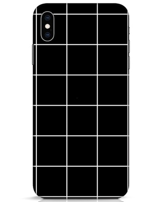 Shop Grid iPhone XS Max Mobile Cover-Front