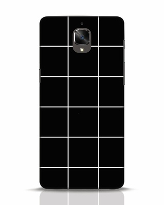 Shop Grid OnePlus 3 Mobile Cover-Front