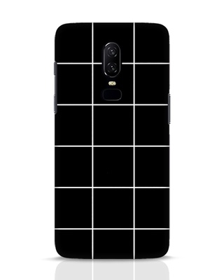 Shop Grid OnePlus 6 Mobile Cover-Front