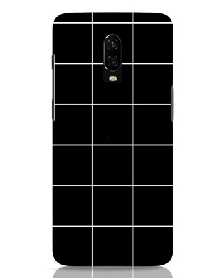 Shop Grid OnePlus 6T Mobile Cover-Front