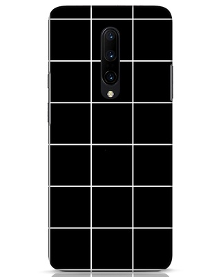 Shop Grid OnePlus 7 Pro Mobile Cover-Front