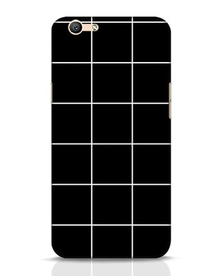 Shop Grid Oppo F1s Mobile Cover-Front