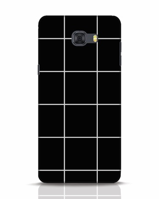 Shop Grid Samsung Galaxy C9 Pro Mobile Cover-Front