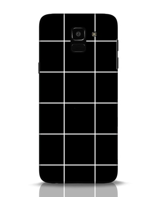 Shop Grid Samsung Galaxy J6 Mobile Cover-Front