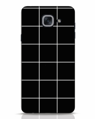 Shop Grid Samsung Galaxy J7 Max Mobile Cover-Front