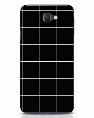 Shop Grid Samsung Galaxy J7 Prime Mobile Cover-Front