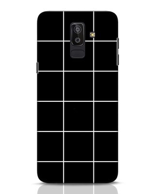 Shop Grid Samsung Galaxy J8 Mobile Cover-Front