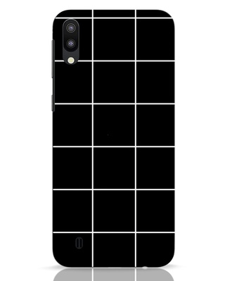 Shop Grid Samsung Galaxy M10 Mobile Cover-Front