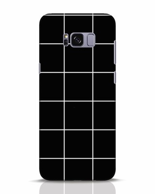Shop Grid Samsung Galaxy S8 Plus Mobile Cover-Front
