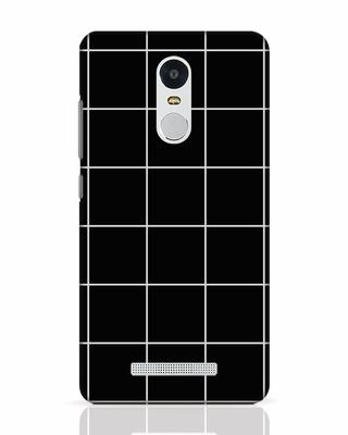 Shop Grid Xiaomi Redmi Note 3 Mobile Cover-Front
