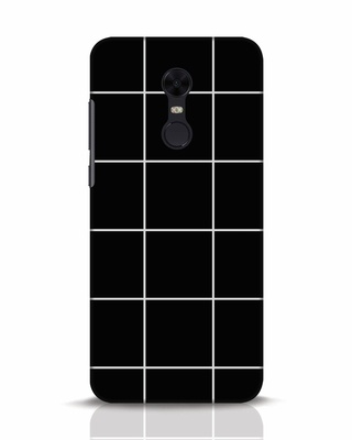 Shop Grid Xiaomi Redmi Note 5 Mobile Cover-Front