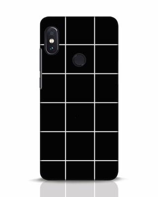 Shop Grid Xiaomi Redmi Note 5 Pro Mobile Cover-Front