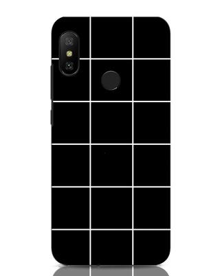 Shop Grid Xiaomi Redmi Note 6 Pro Mobile Cover-Front