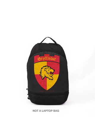 Shop Gryffindor Support  Printed Small Backpack (HP)-Front